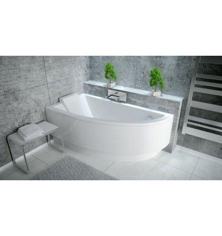 baignoire d 39 angle oriego droite ou gauche avec tablier home staging pinterest baignoires. Black Bedroom Furniture Sets. Home Design Ideas