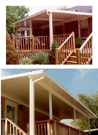 Patio Cover Amp Carport Kits Aluminum Covered Patio Kits