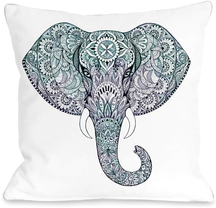 One Bella Casa Tie Dye Ele Pillow by OBC is part of Elephant tattoos - Get insiderlevel access and shop coveted designers at up to 70% off retail prices  New Sales launch daily