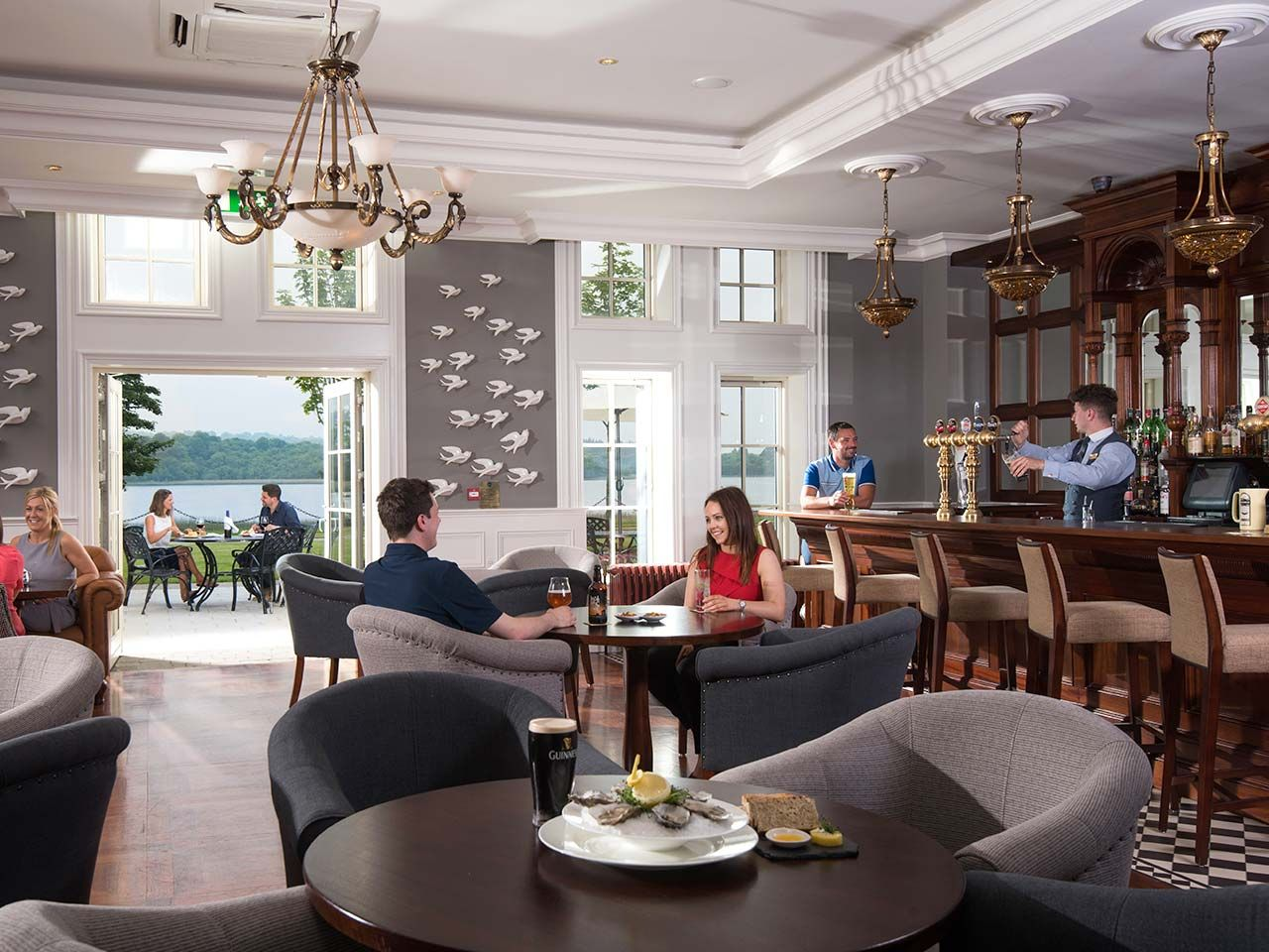 The Newlook Blaney Bar Lougherneresort Open 7 Days A Week