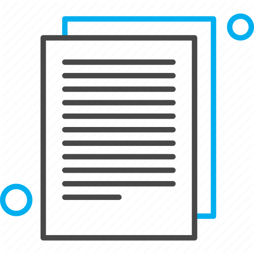 Document File Page Paper Icon Download On Iconfinder Icon Paper Documents