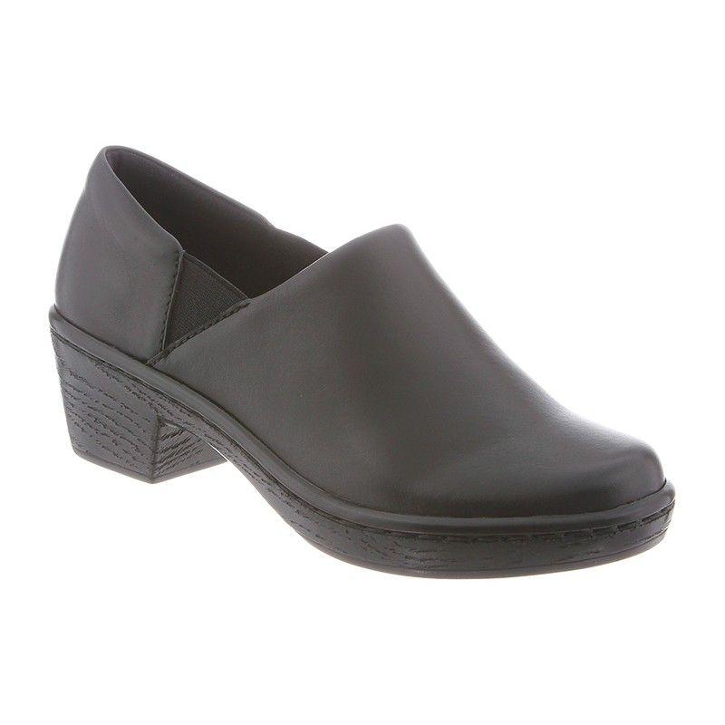 Klogs Women's Vista Clog, Size: 11 M, Black Full Grain Leather
