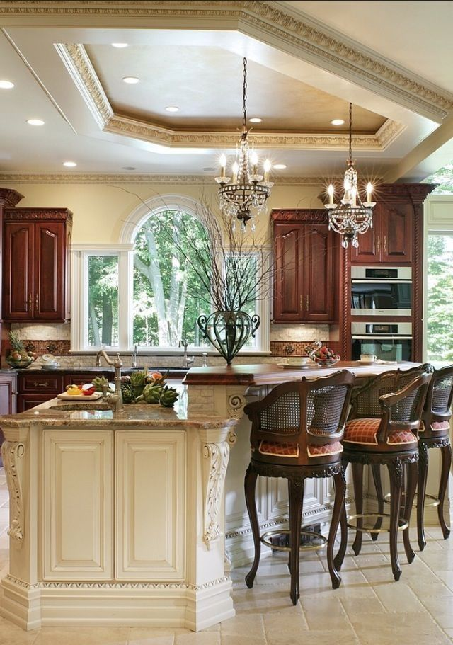65 Most fascinating kitchen islands with intriguing layouts ...
