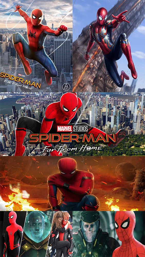 Spiderman is almost ready to rule the cinemas. waiting for