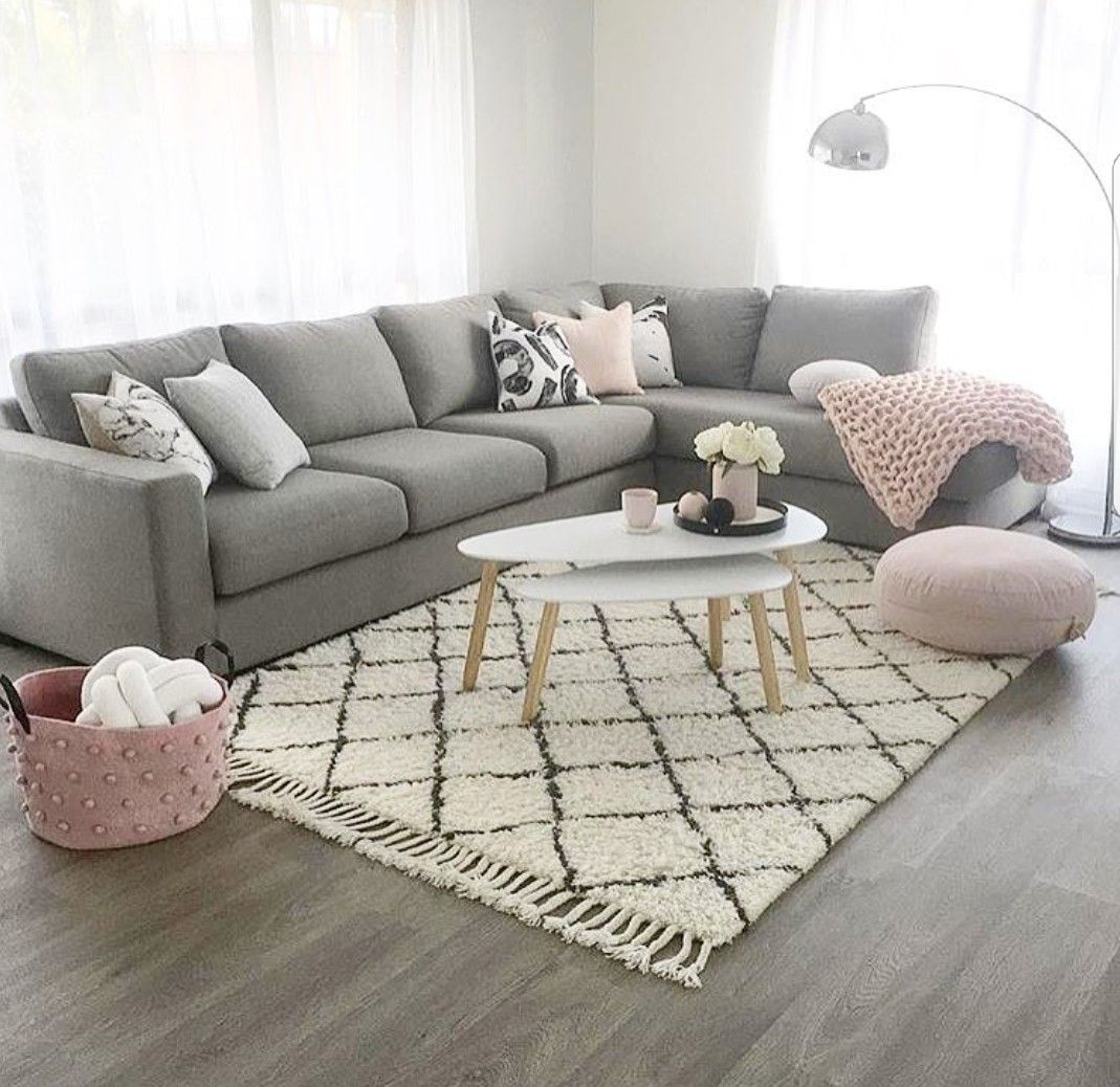 soft grey living room soft pink and grey living room house 17454