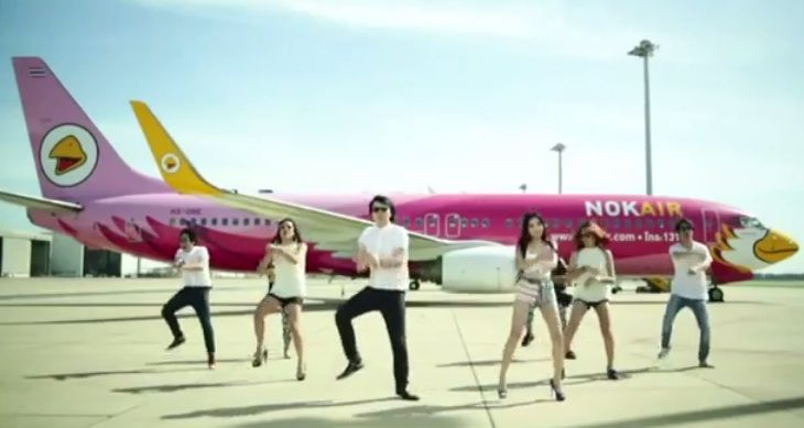 Giddy Up for Some Psy Gangnam Style Branding