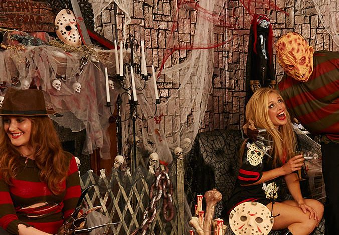 image result for halloween scary movie party