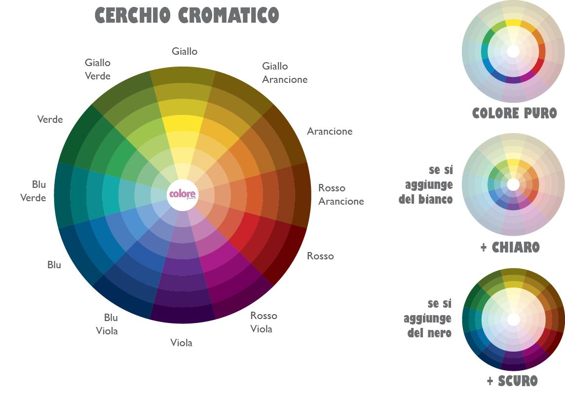 Impariamo Ad Abbinare I Colori Colori Teoria Teoria Del Colore