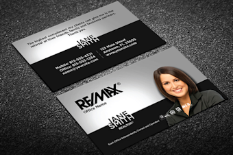 Remax Business Cards Free Shipping Designs Templates Logo - Business card online template