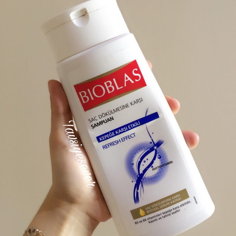 Bioblas Sac Dokulmesine Karsi Sampuan Kepege Karsi Etkili