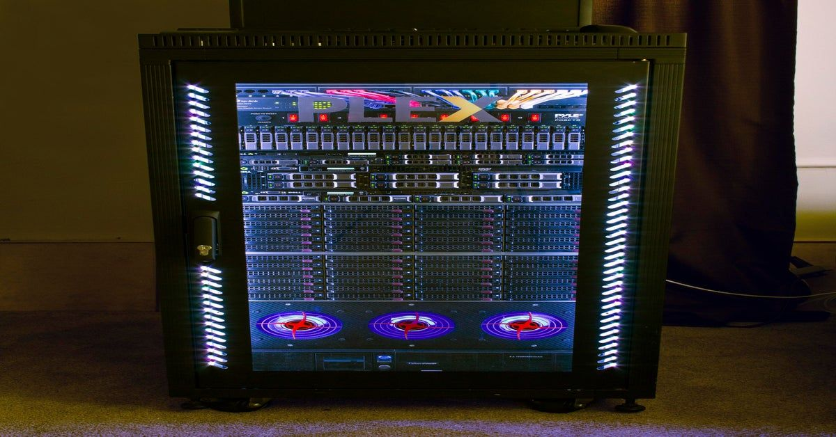 Do server racks count? pcmasterrace Server rack