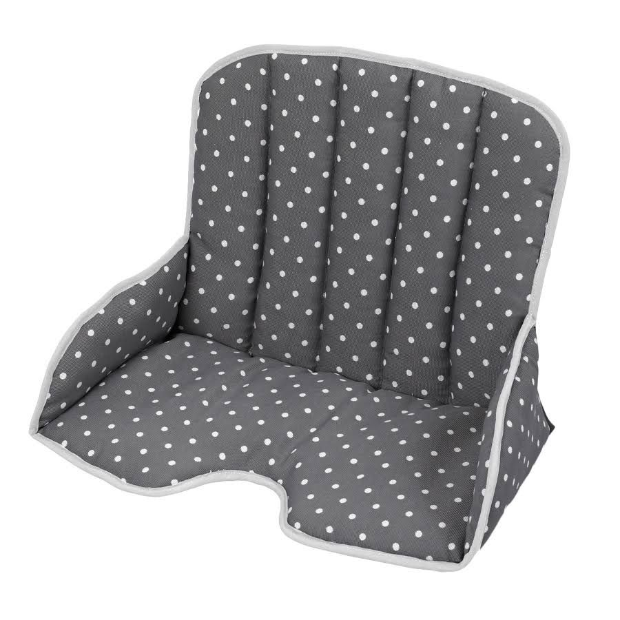 Chaise Haute Tissu Geuther Coussin D Assise Tissus Pour Chaise Haute Tamino Gris à