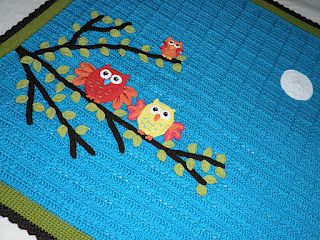 What a cute afghan! website in spanish - no pattern