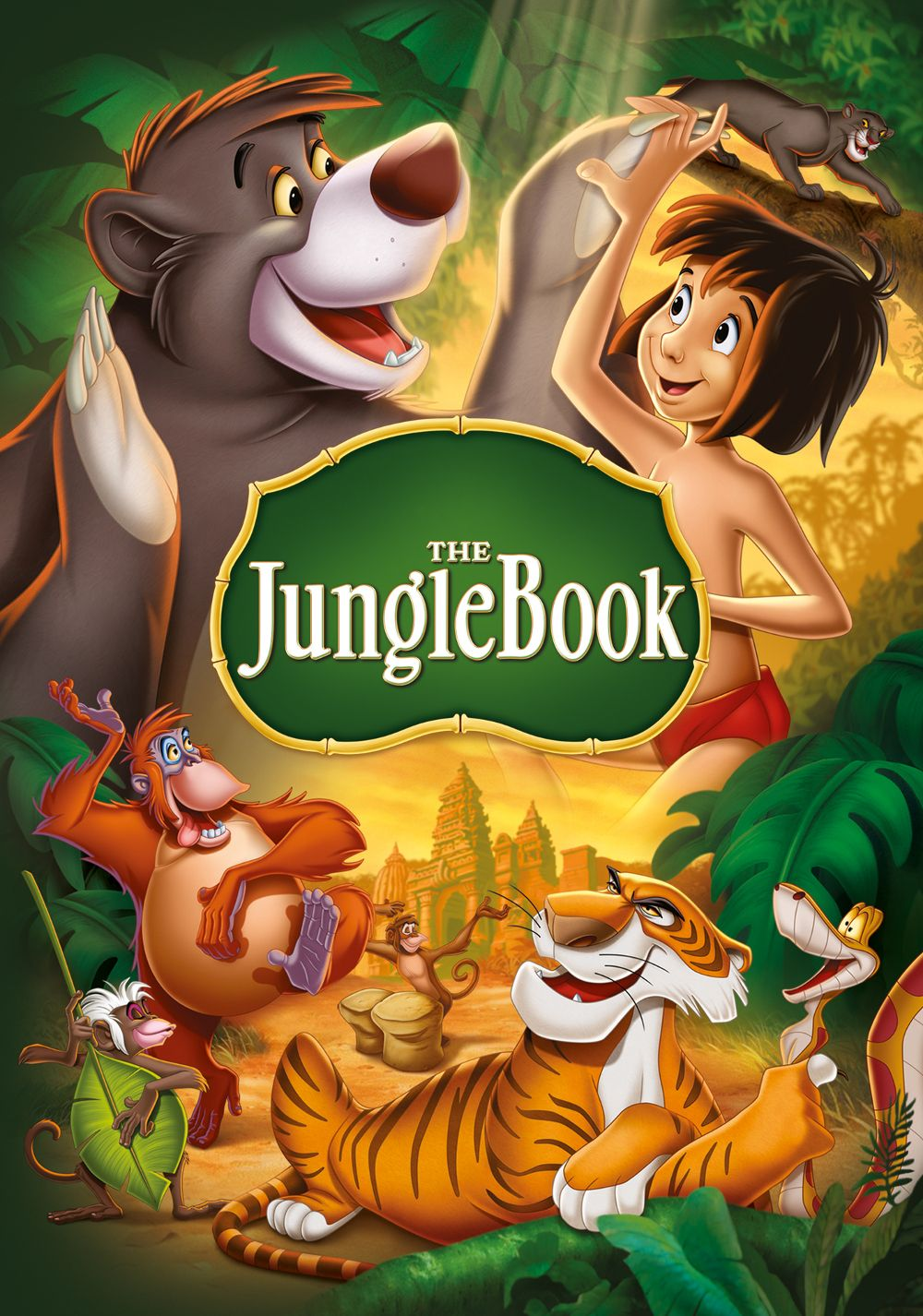 jungle book cover Google Search Kids' movies, Disney