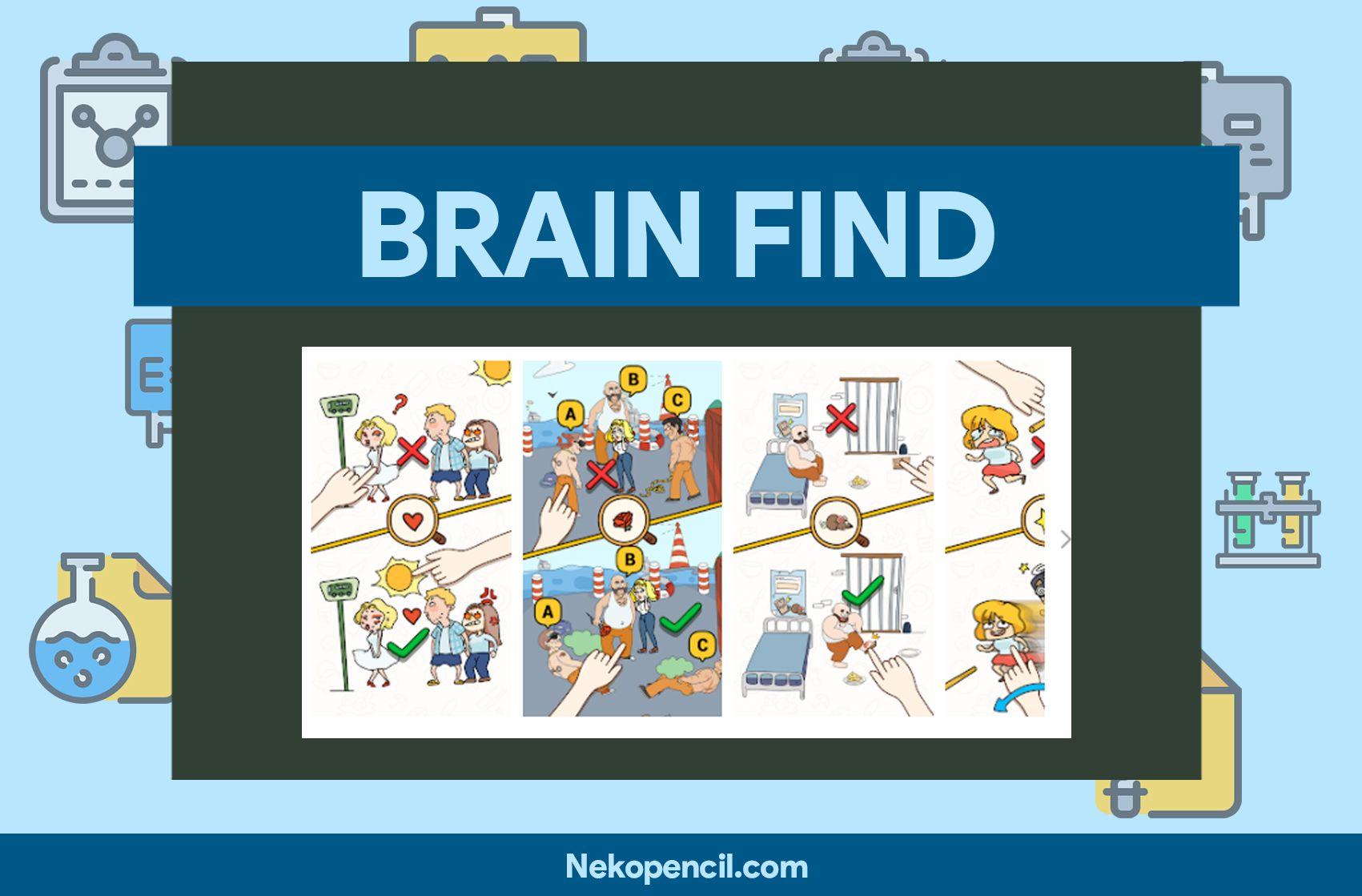 Kunci Jawaban Brain Find Level 1 8211 125 Lengkap Dan Terbaru Asah Otak Anjing