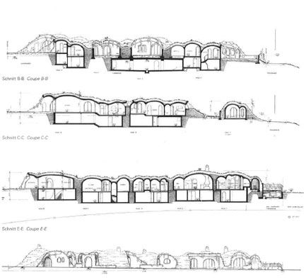 Ferro cement earth sheltered design by architect peter for Ferrocement house plans