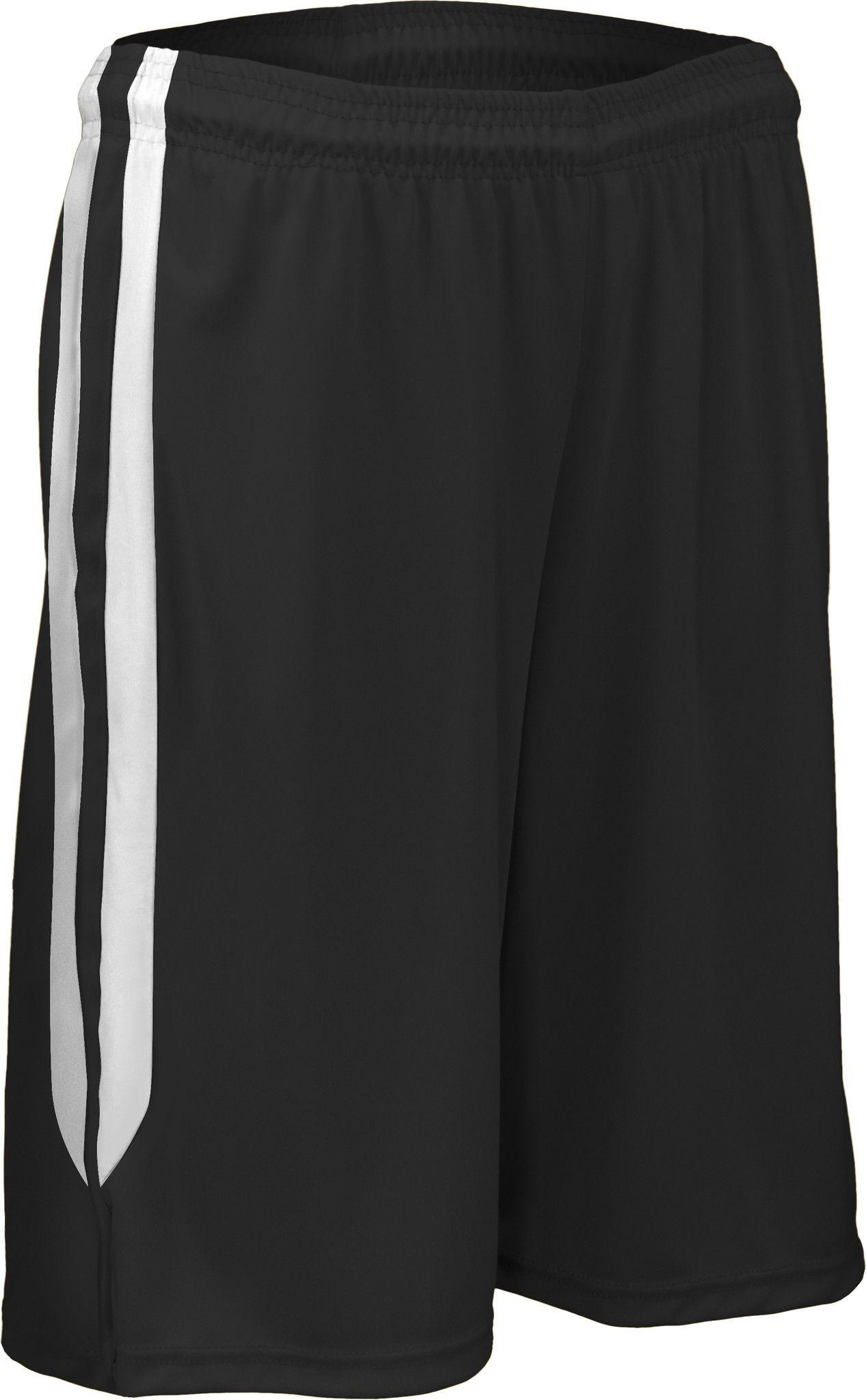 PT4497Y-Youth Split Side Panel Basketball Short
