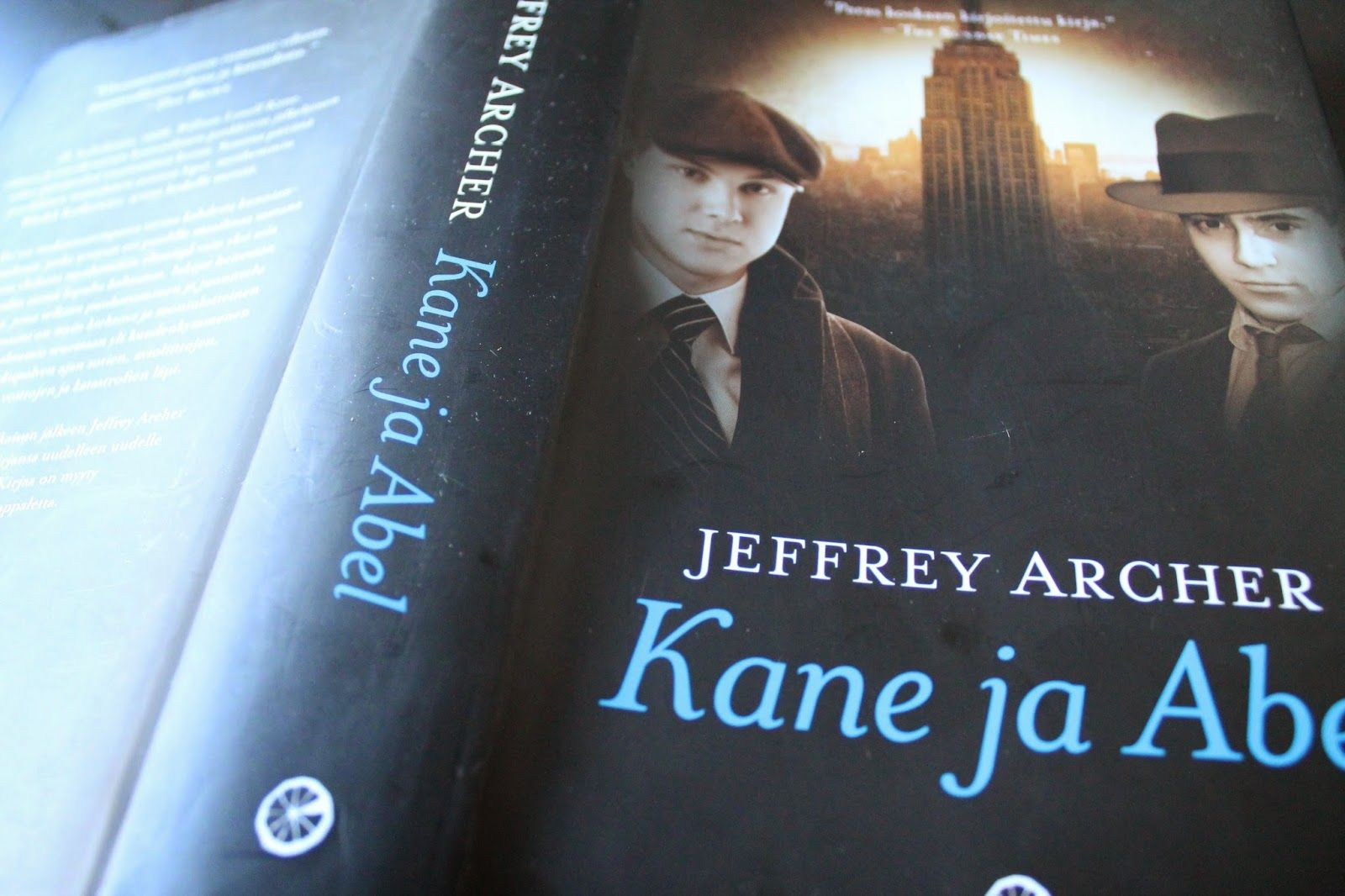 Jeffrey Archer Libros Mari A N Kirjablogi Jeffrey Archer Kane Ja Abel Books To Read