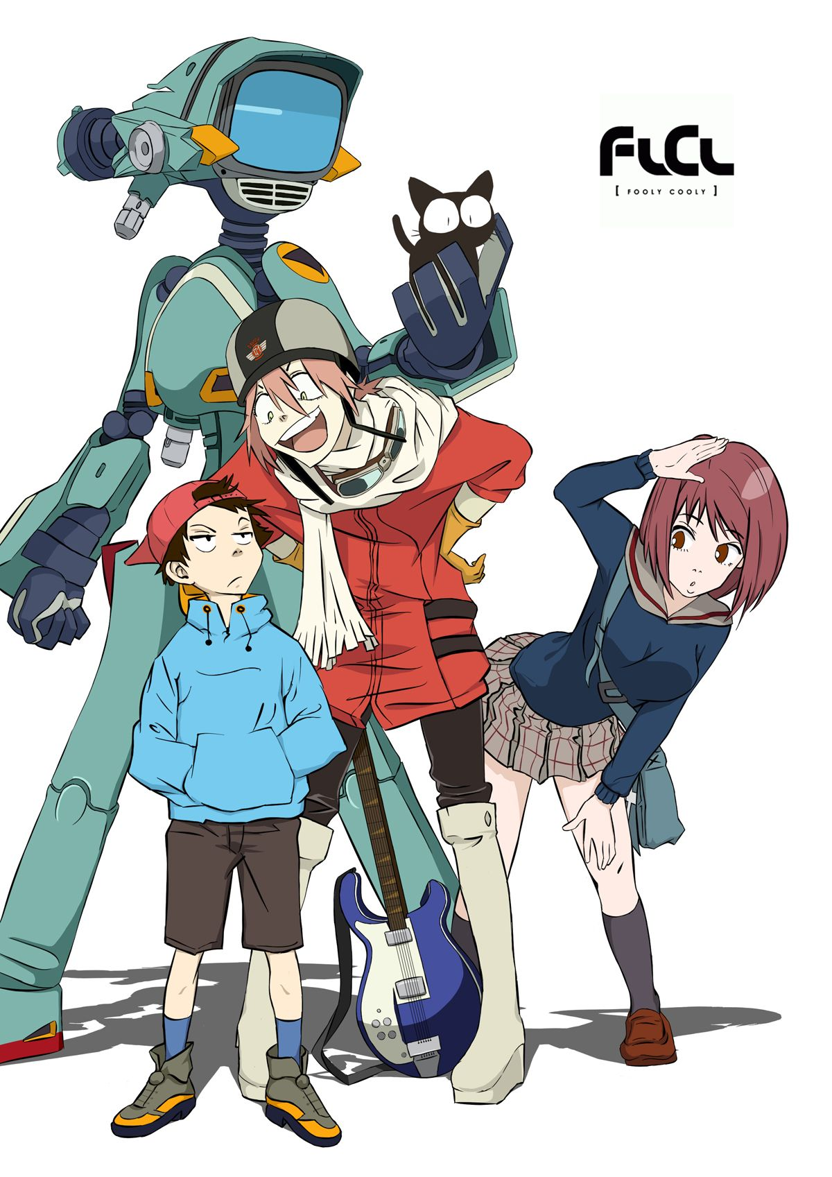Fooly cooly i just finished this anime and i got to say i fairly enjoyed it although the show has a very confusing plot there are multiple lessons
