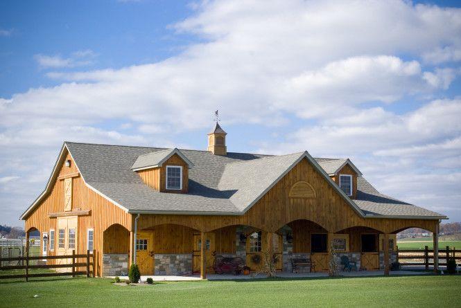 Elizabethtown Pa B D Builders Horse Barns Barn Stables Dream Horse Barns