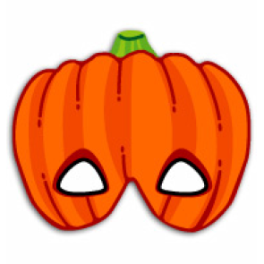 Free Downloadable Halloween Pumpkin Mask Try Out This Fun Mask And You Too Can Become Pumpkin Let S Halloween Masks Printable Halloween Masks Pumpkin Mask