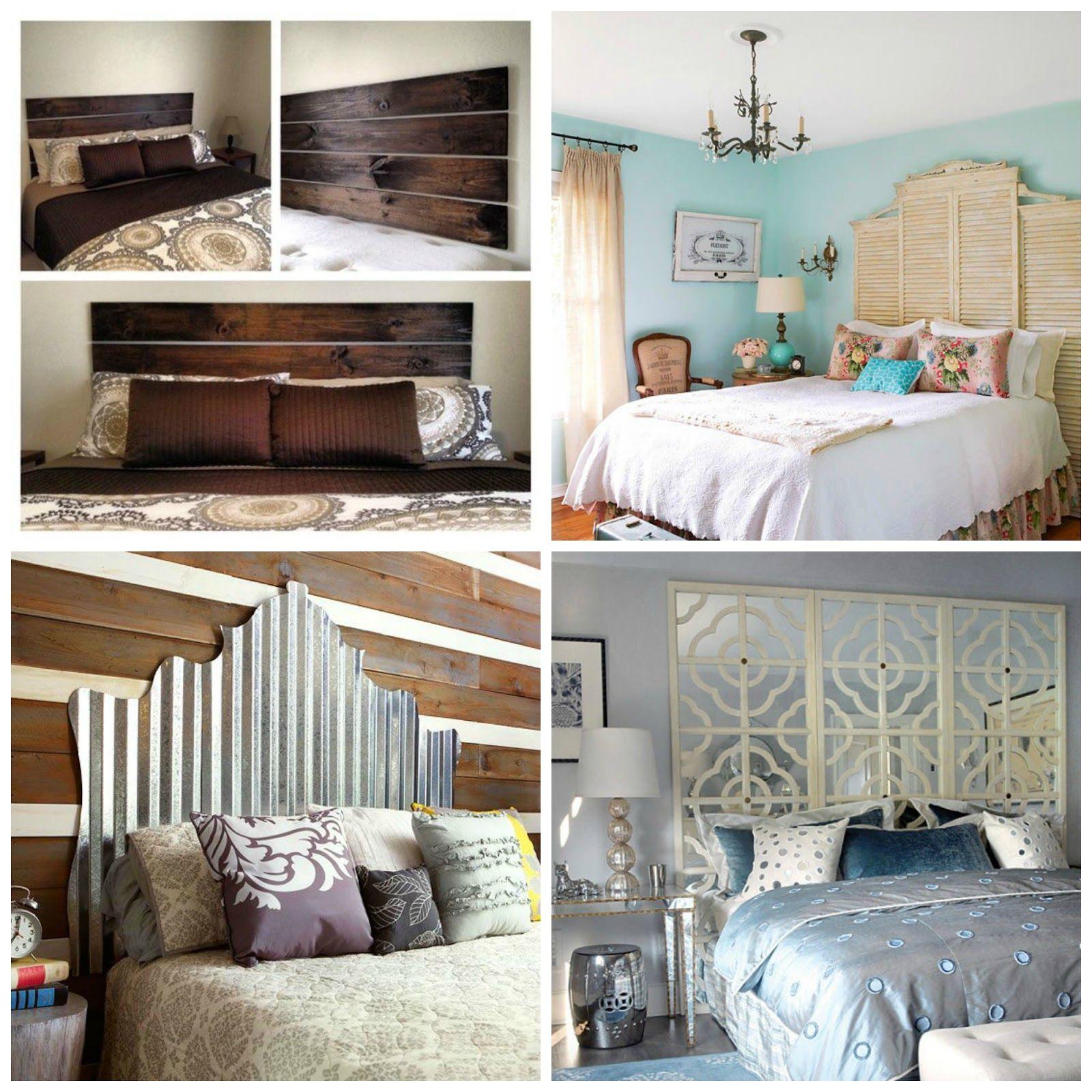 Master bedroom headboard ideas   Superb DIY Headboard Ideas for Your Chic Bedroom  Master