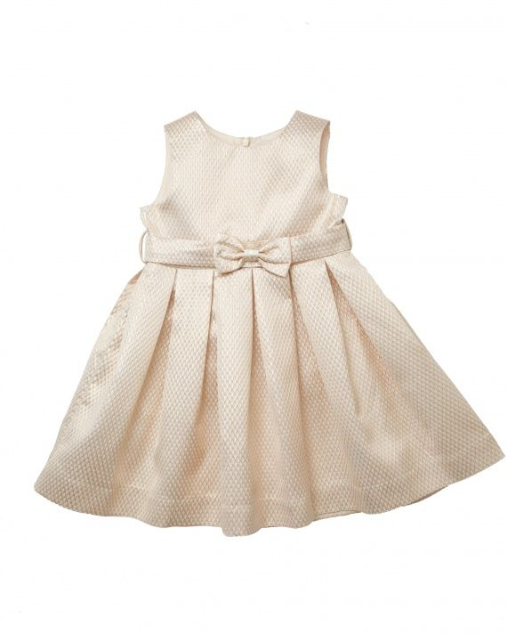 b029c263c09d Bow Coup - 17 Flower Girl Dresses for a Summer Wedding That the Little Ones  Will Adore - Rachel Riley Sparkle Party Dress in Gold Sparkle