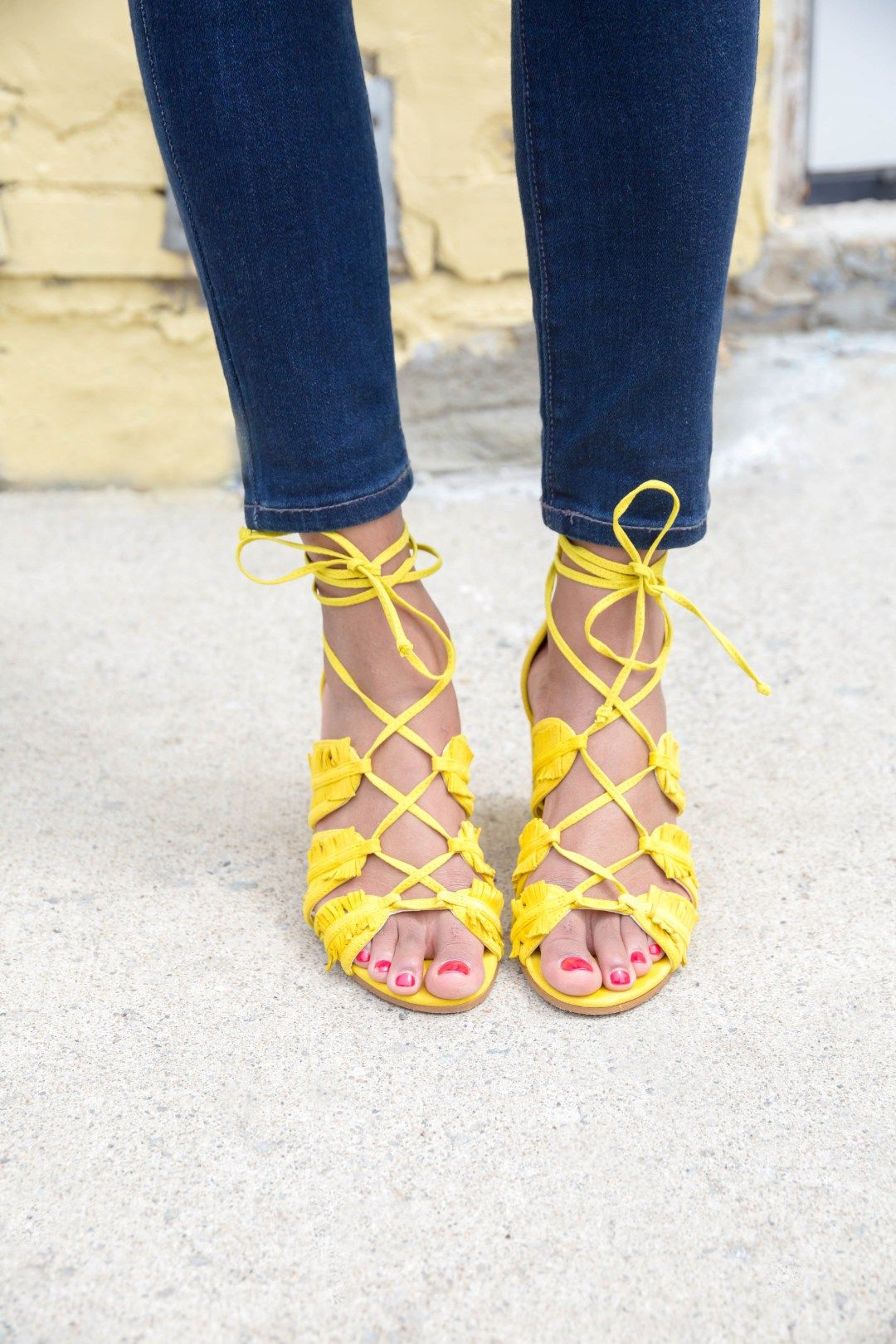 How to yellow wear shoes pinterest fotos