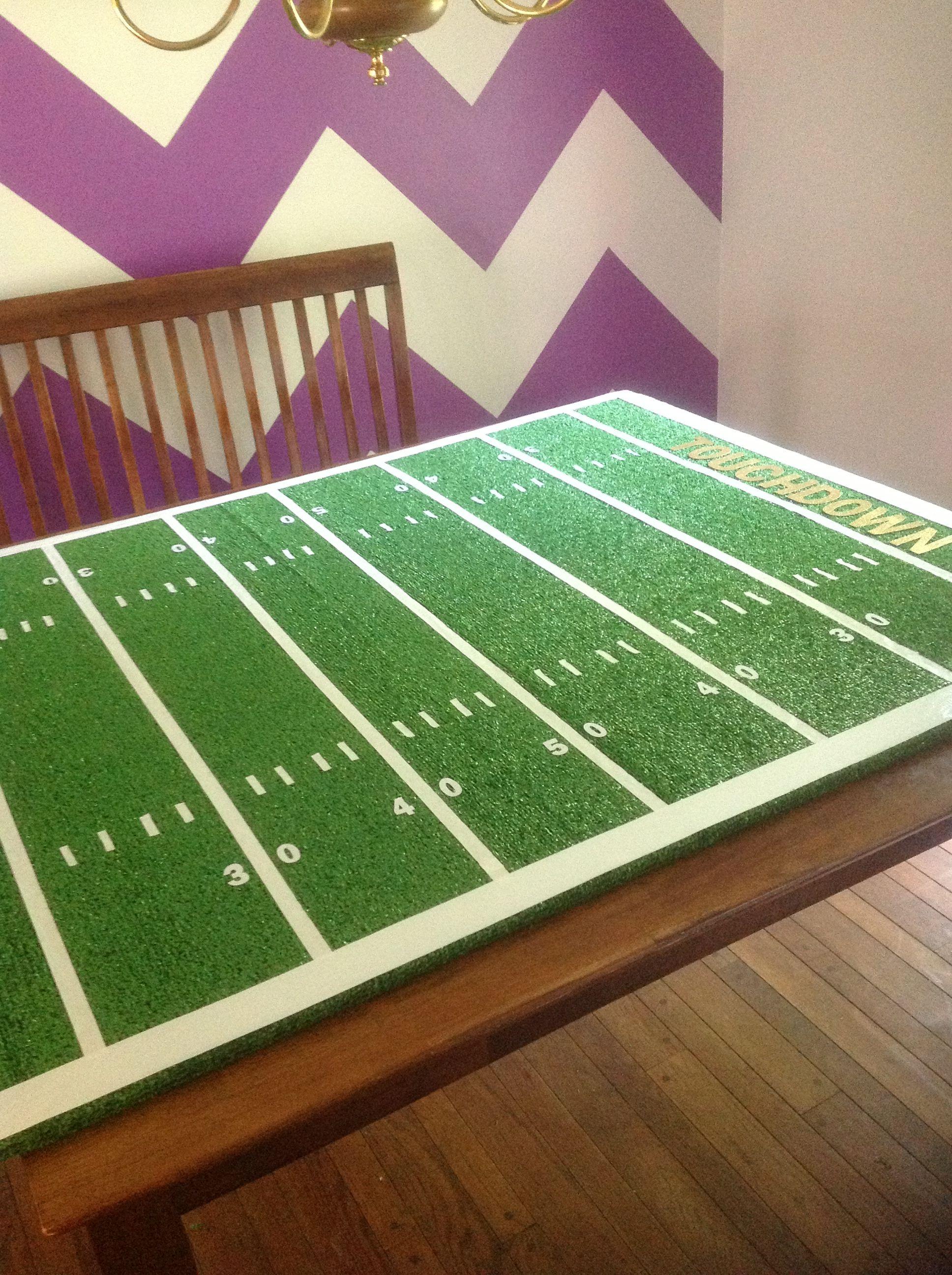 Football Field Decoration Ideas