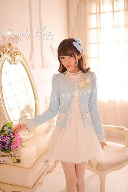 ===✩✸✩✸==DISCOUNTED OFFER: Save $31==✩✸✩✸========  Item: Japanese Princess Sweet Lolita Coat Price: Original: $64.99 | Now ONLY: $33.99 (Limited Version)
