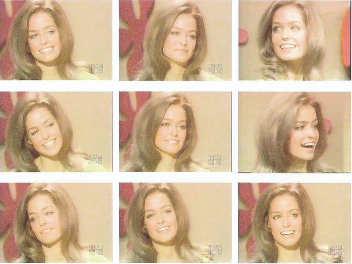 "Shots of Farrah Fawcett on ""The Dating Game""."