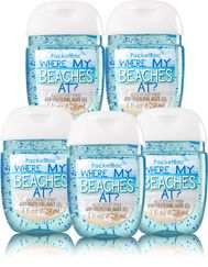 Where My Beaches At 5 Pack Pocketbac Sanitizers Soap Sanitizer