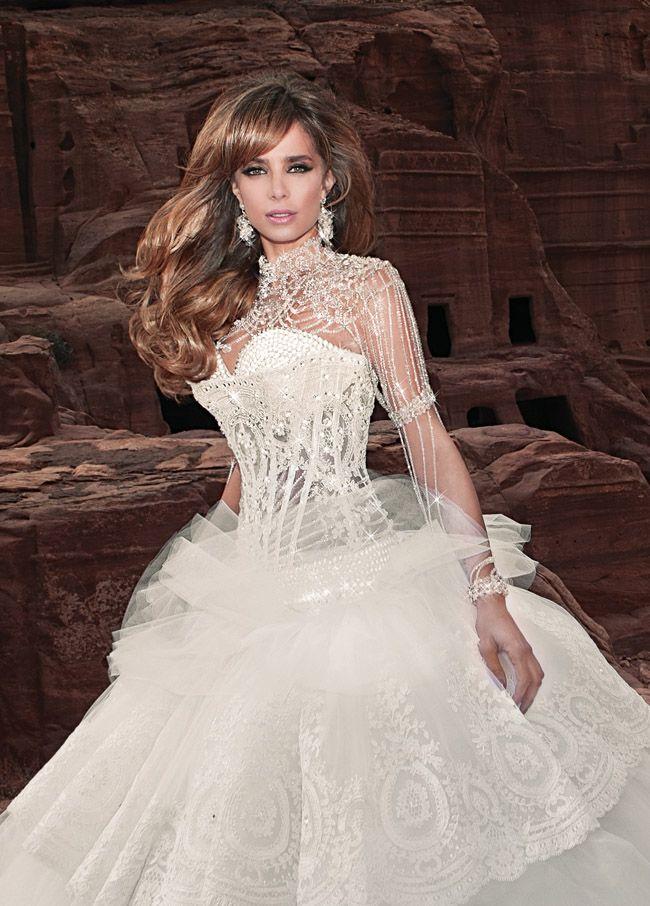 Berühmt Francis Libiran Hochzeitskleider Bilder - Brautkleider Ideen ...