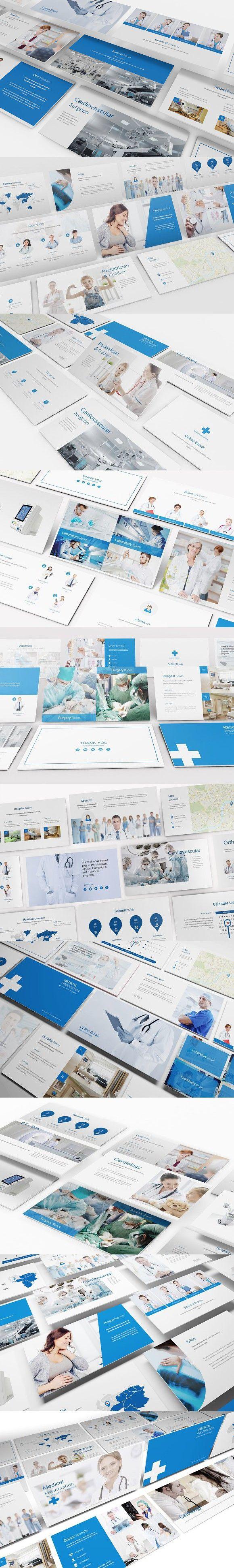 Medical And Hospital Google Slide Hospital Healthcare
