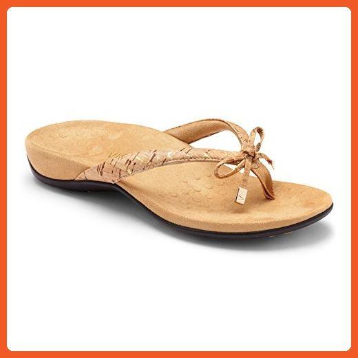 6cdcb6623666 Vionic Womens Rest Bella Ii Toepost Sandal Gold Cork Size 7 Wide - Sandals  for women ( Amazon Partner-Link)