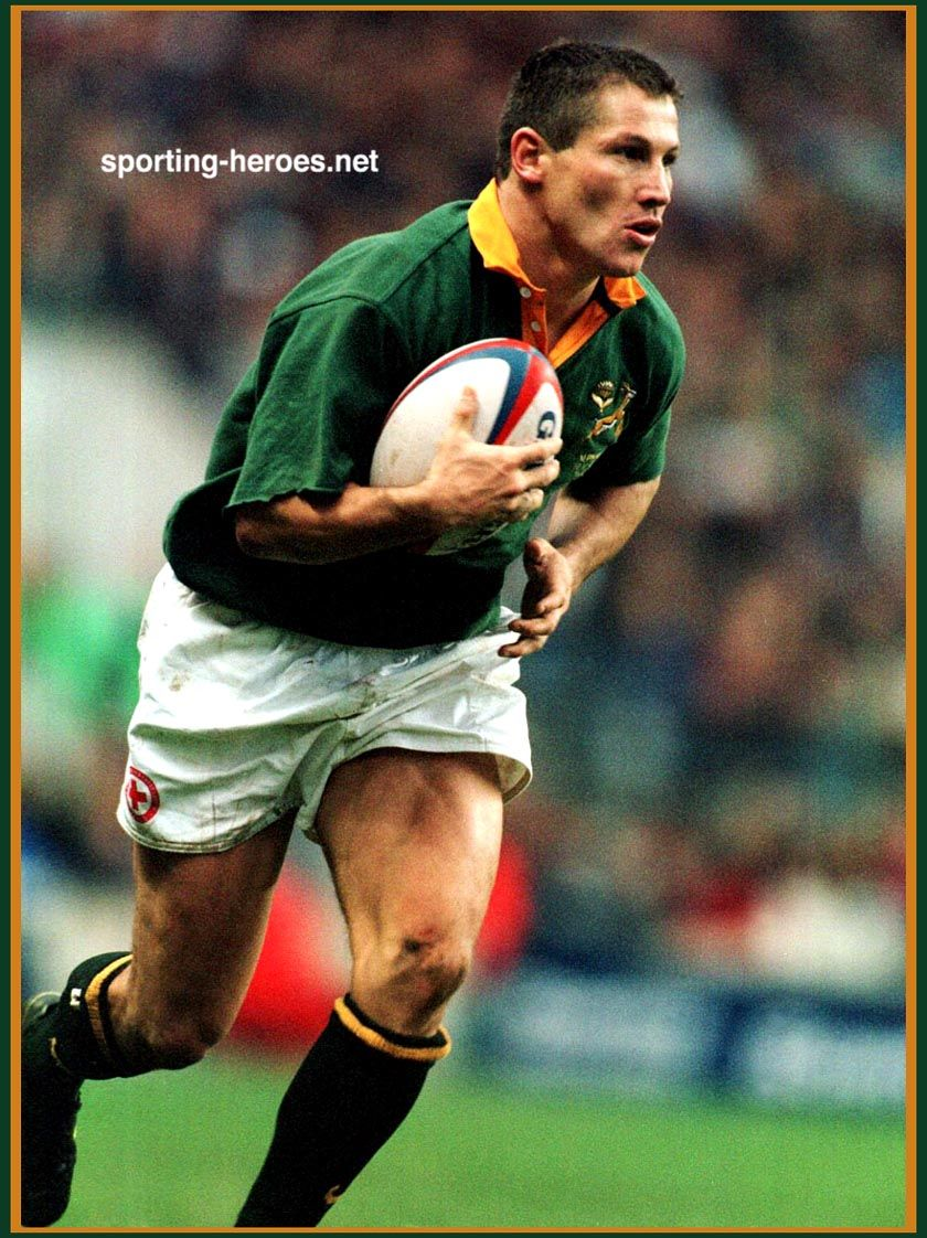 James Small Springbok Rugby Rugby Union Rugby Players