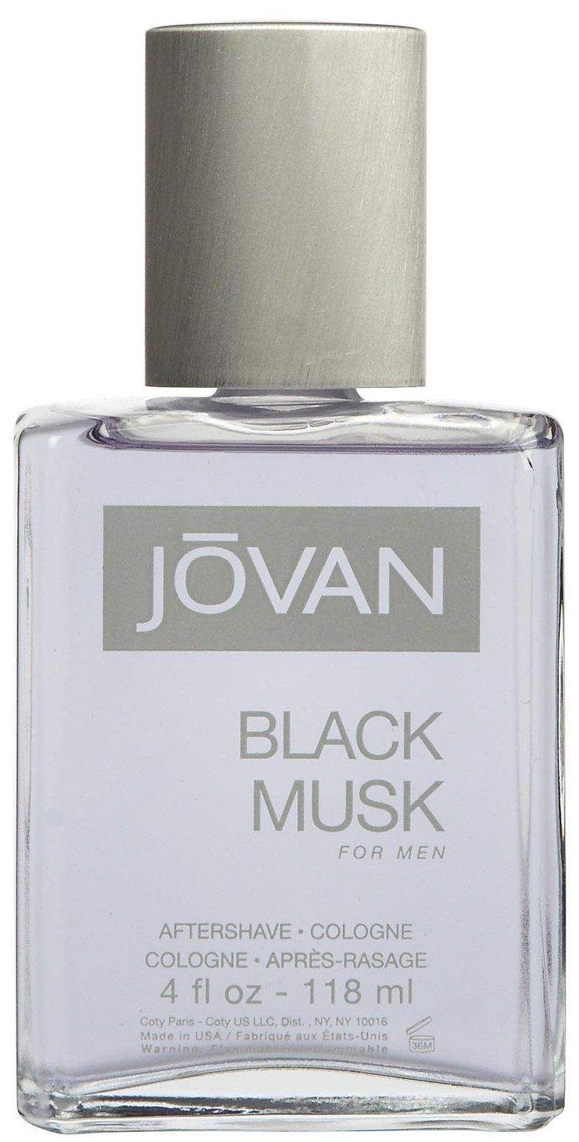 Jovan Black Musk for Men After Shave Cologne  Things for Men