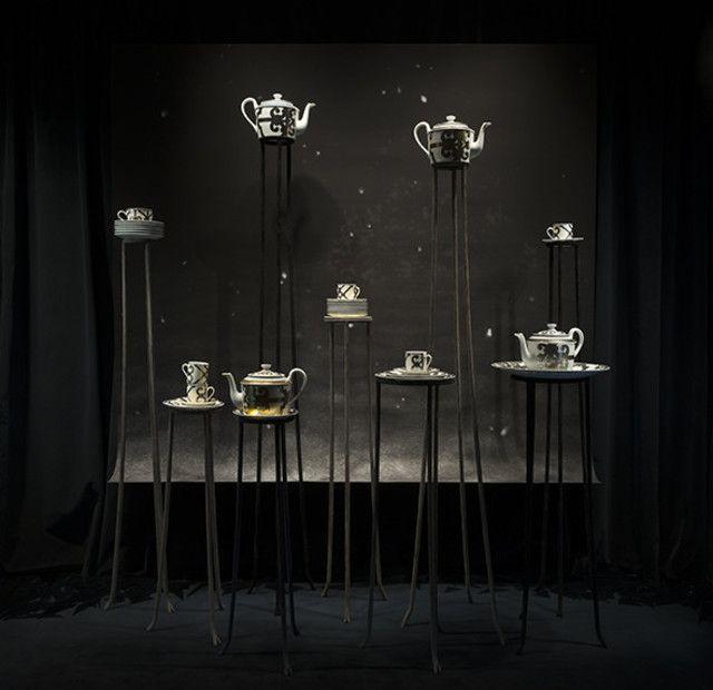 Exposition Le petit théâtre de la démesure Les vitrines du0027Antoine