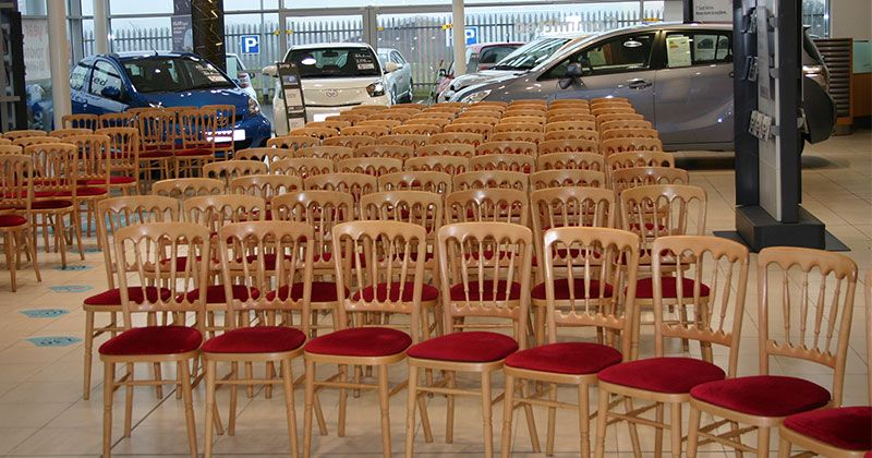 Napoleon Chair Hire For Product Launch Events