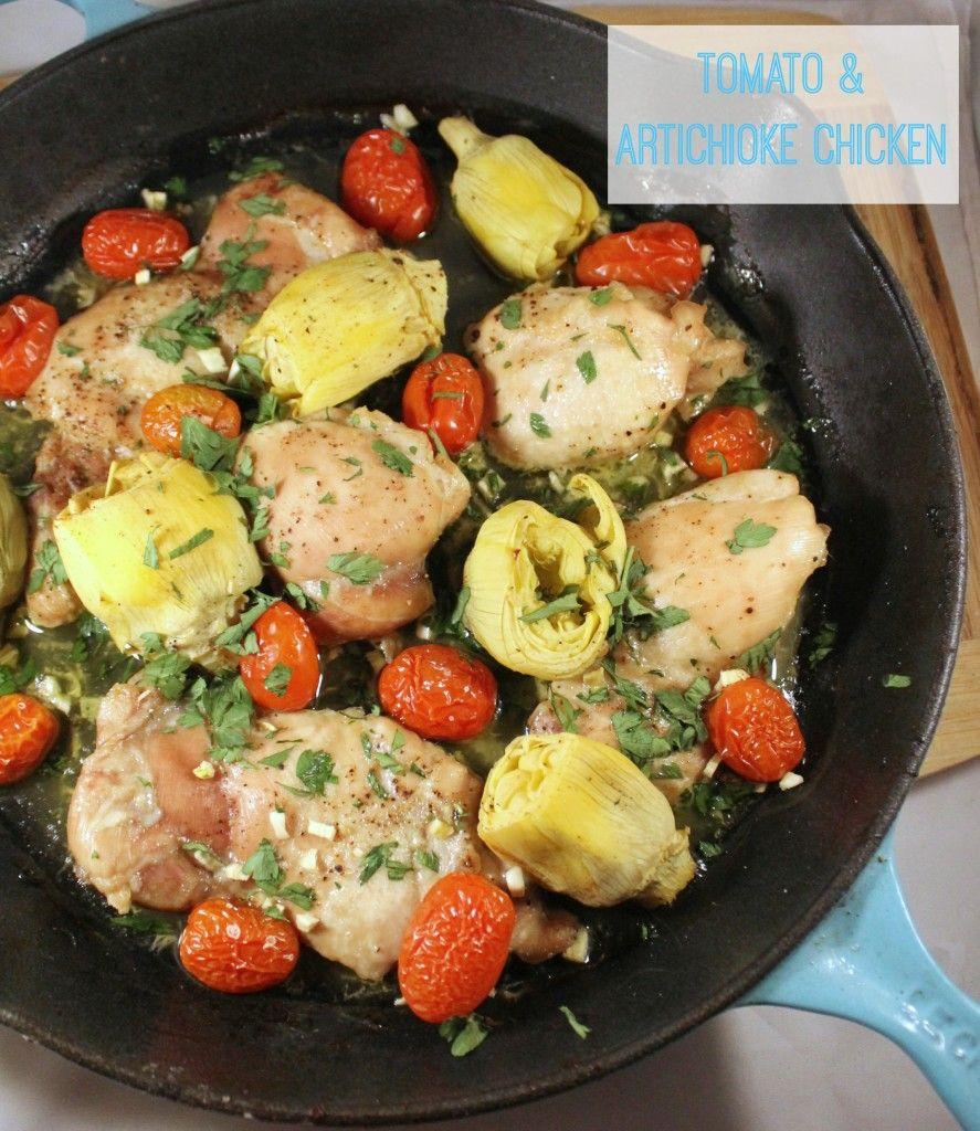 Paleo Tomato Amp Artichoke Chicken Dinner Recipe Paleo