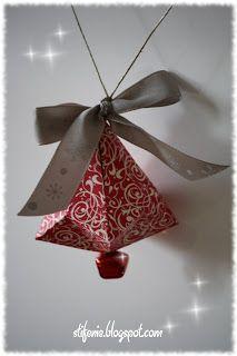 Origami Glocke #origamianleitungen