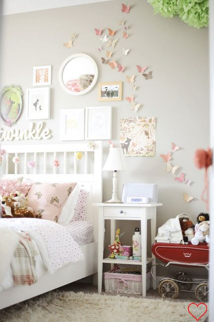 mural de décor ideias fofas para quartos infantis Pinterest - murales con fotos