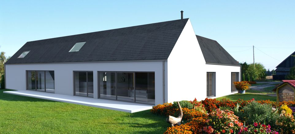 Modern self build house kits from hebridean contemporary for Sip building kits