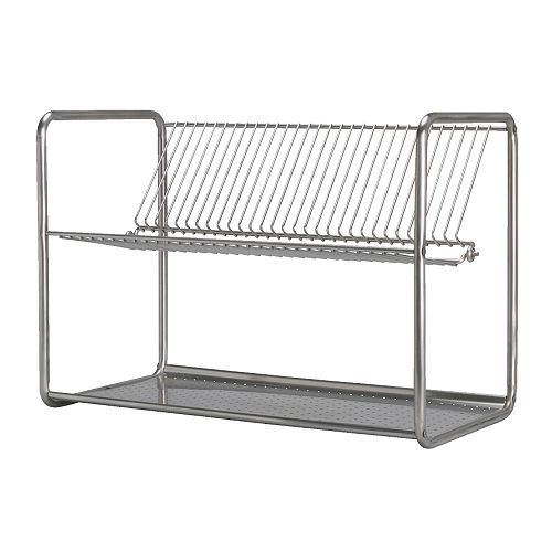 Extra Large Dish Drying Rack Gorgeous Ordning Dish Drainer Stainless Steel  Pinterest  Dish Drainers Design Ideas