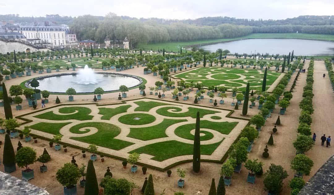 Palace of Versailles Gardens. 🌱⚘🌳 france (с изображениями