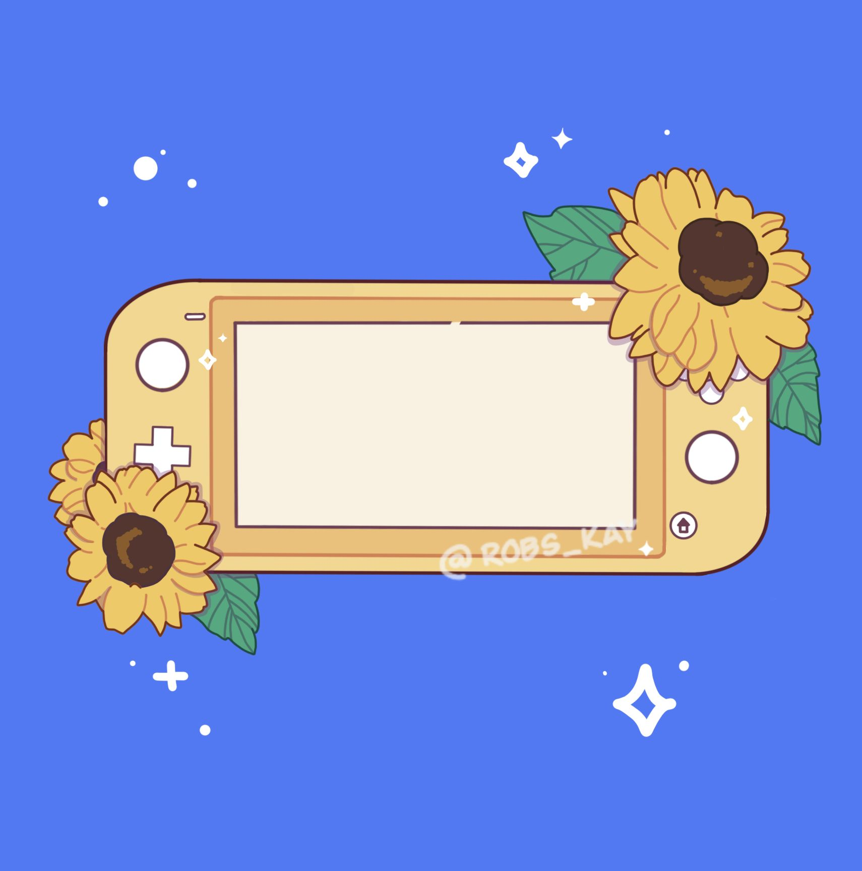 Sunflower Nintendo switch Lite (With images) Anime