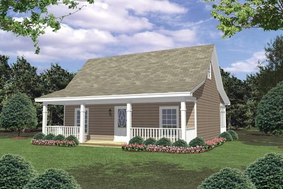 1 Story Cottage Style House Plan Miller Park Modern Cottage Style Cottage Style Homes Modern Cottage