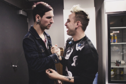 michael and tyler // issues