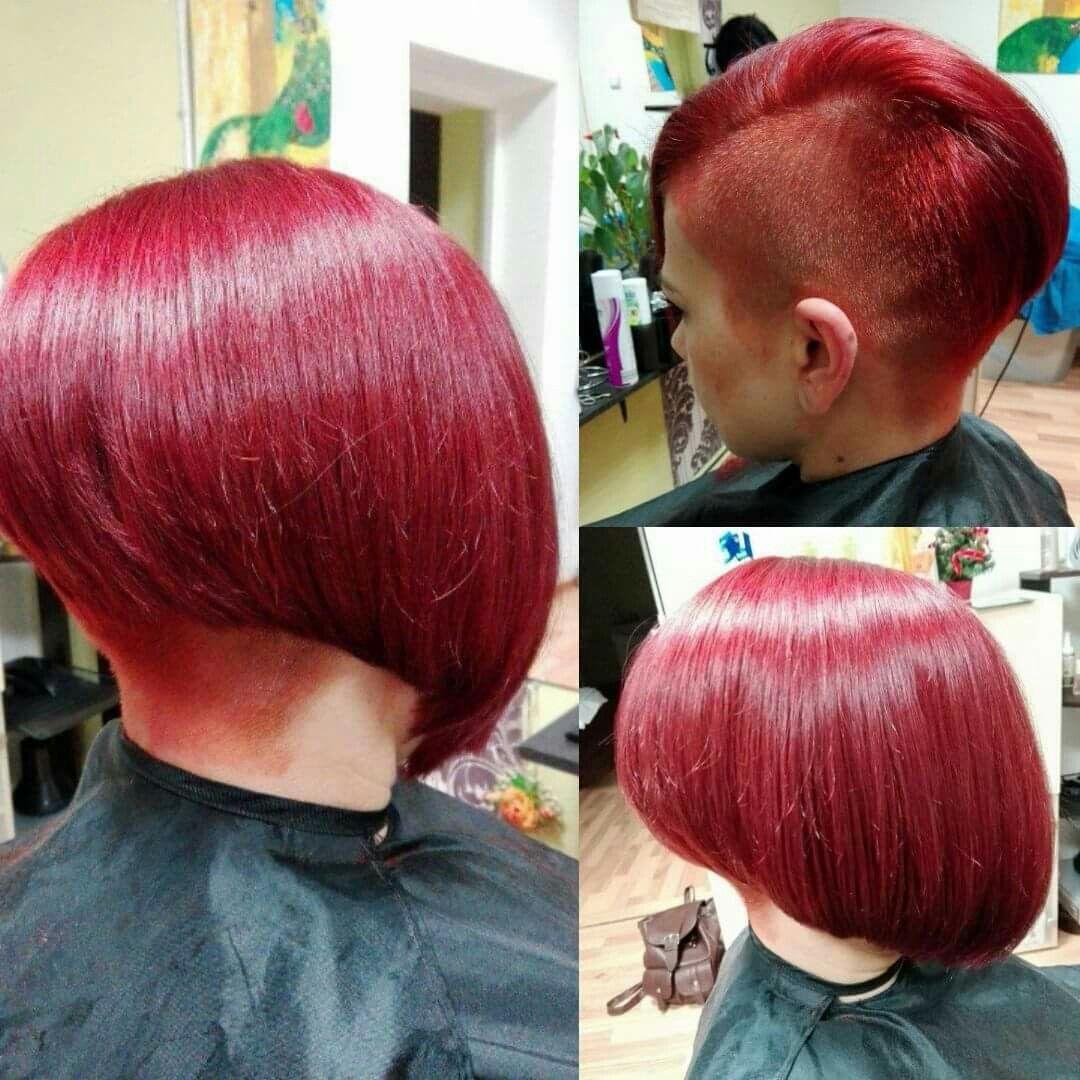 Pixie haircut red hair shaved bob pinterest pixie haircut