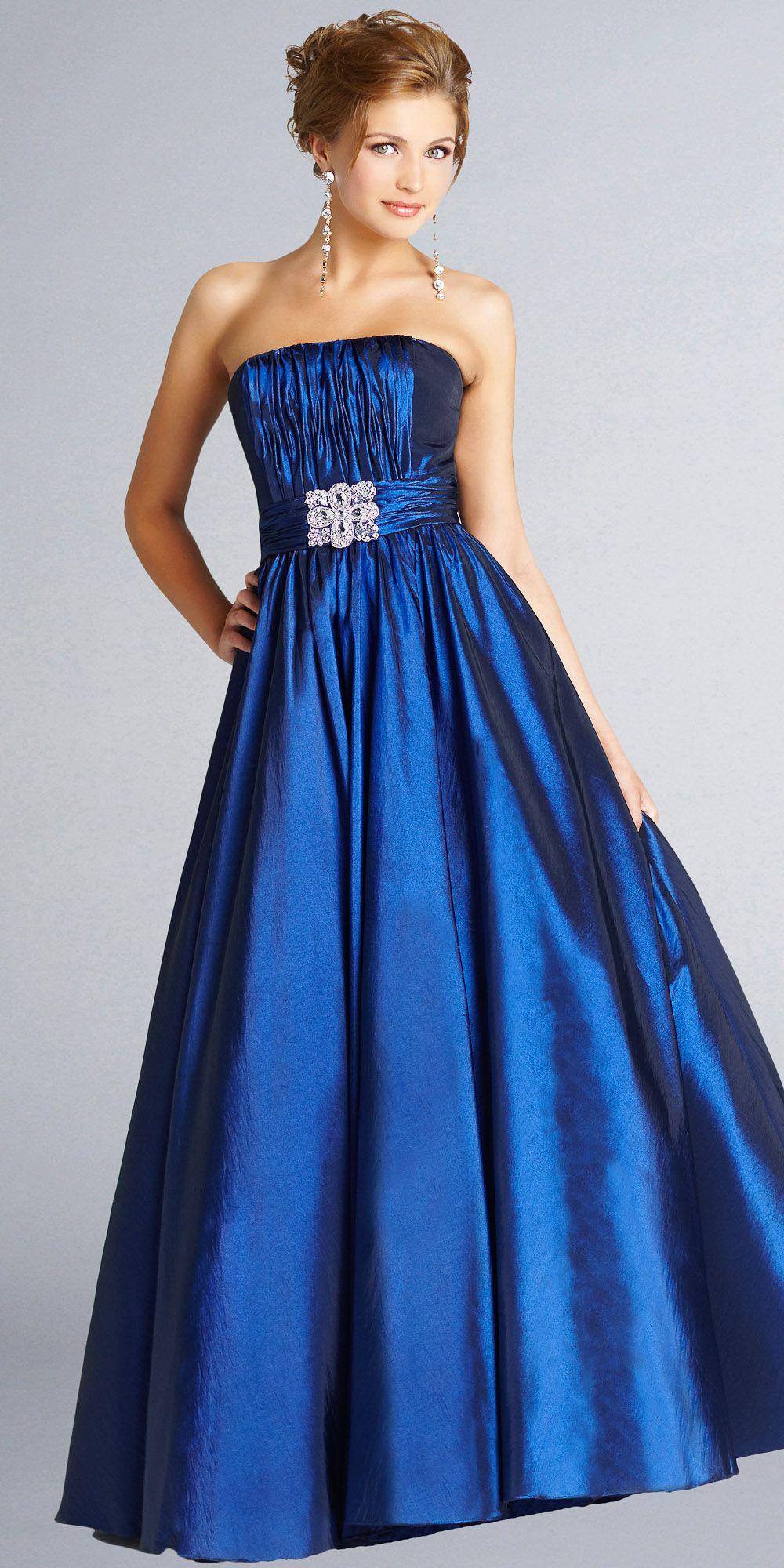 Vestidos de noche color azul turquesa - Azul Electrico Color Buscar Con Google